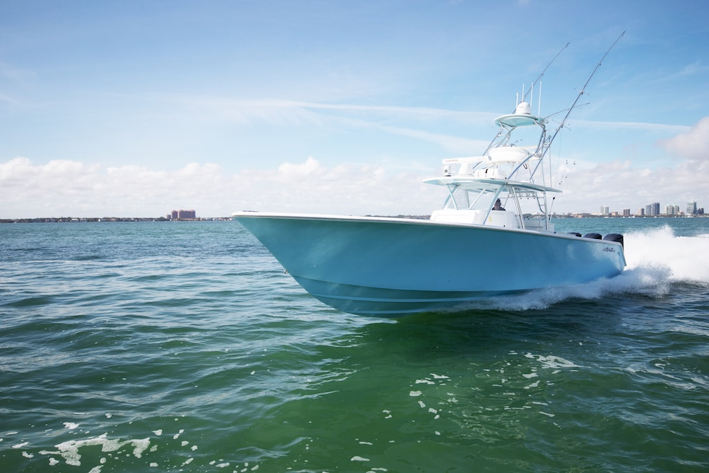 Sea Hunter Boats >> Tournament 45 - SeaHunter Boats