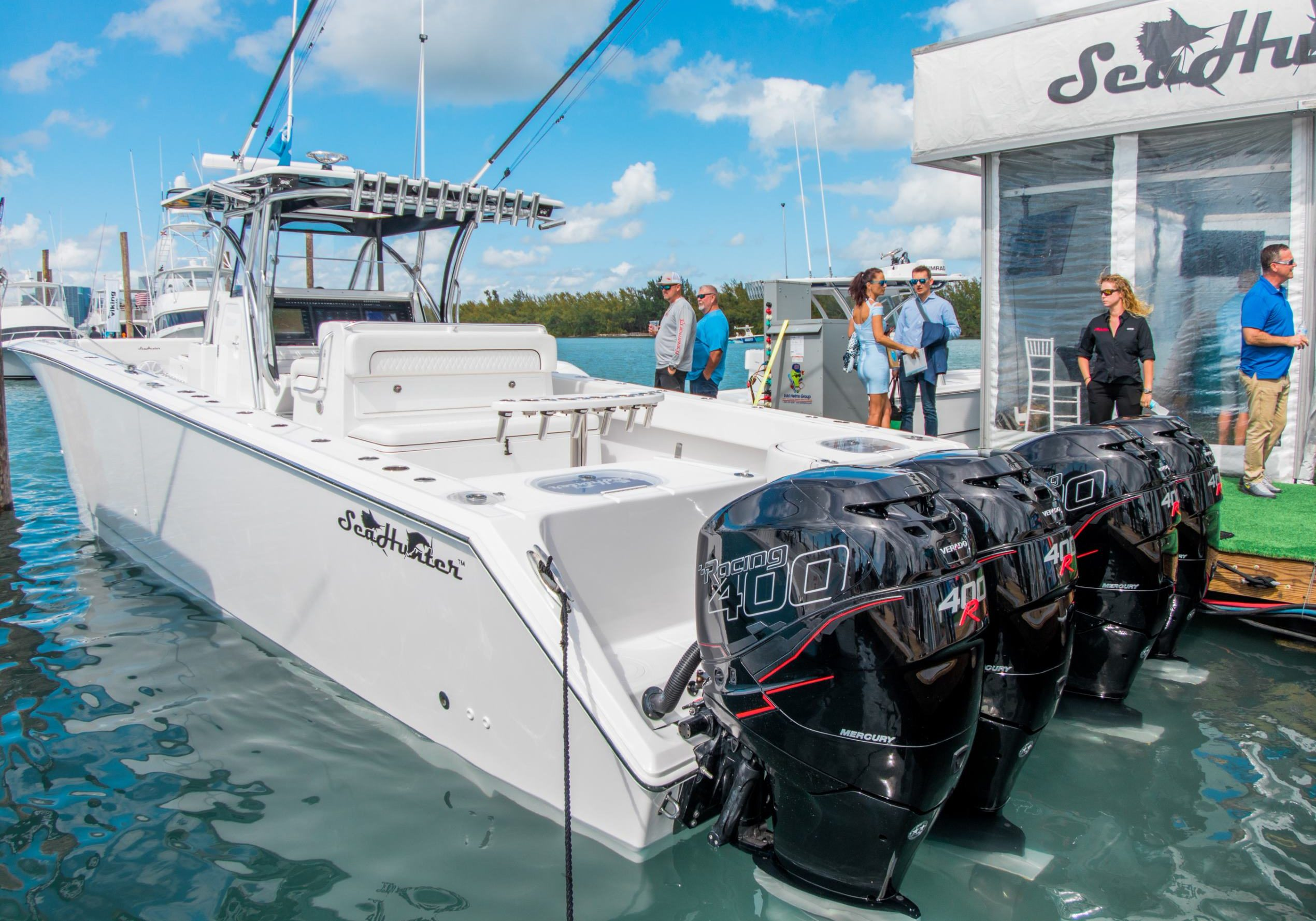 Cat 41 - SeaHunter Boats