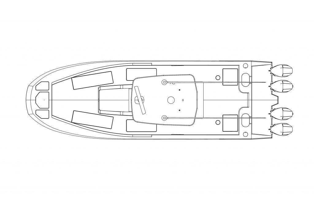 CTS 38 deck plan